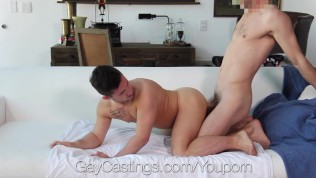 GayCastings First time porn with tight ass amateur Alex Gray